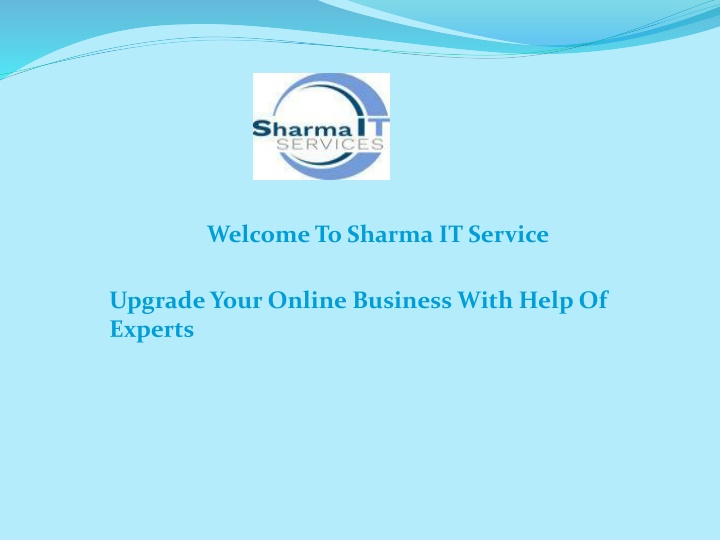 welcome to sharma it service n.
