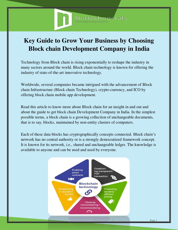 key guide to grow your business by choosing block n.