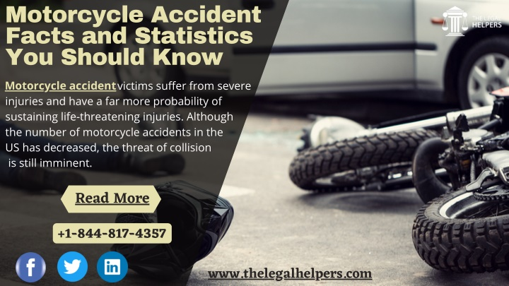 Motorcycle Accident Facts and Statistics You Should Know