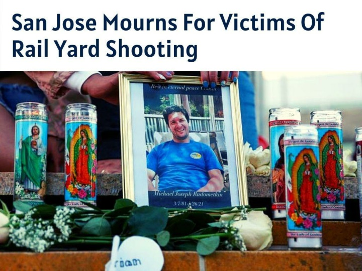 san jose mourns for victims of rail yard shooting n.