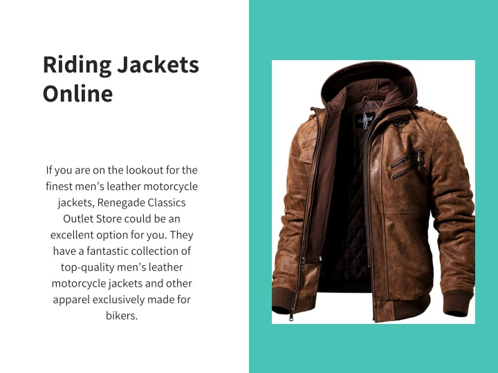 riding jackets online n.