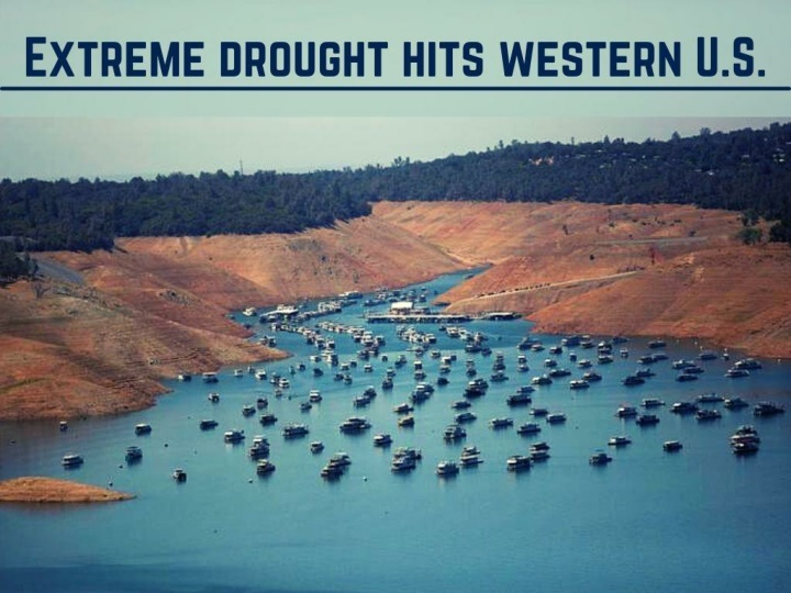 extreme drought hits western u s n.