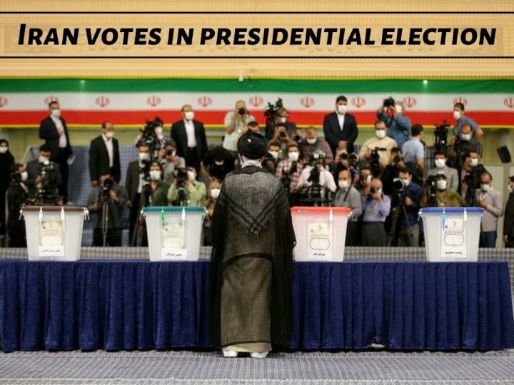 iran votes in presidential election n.