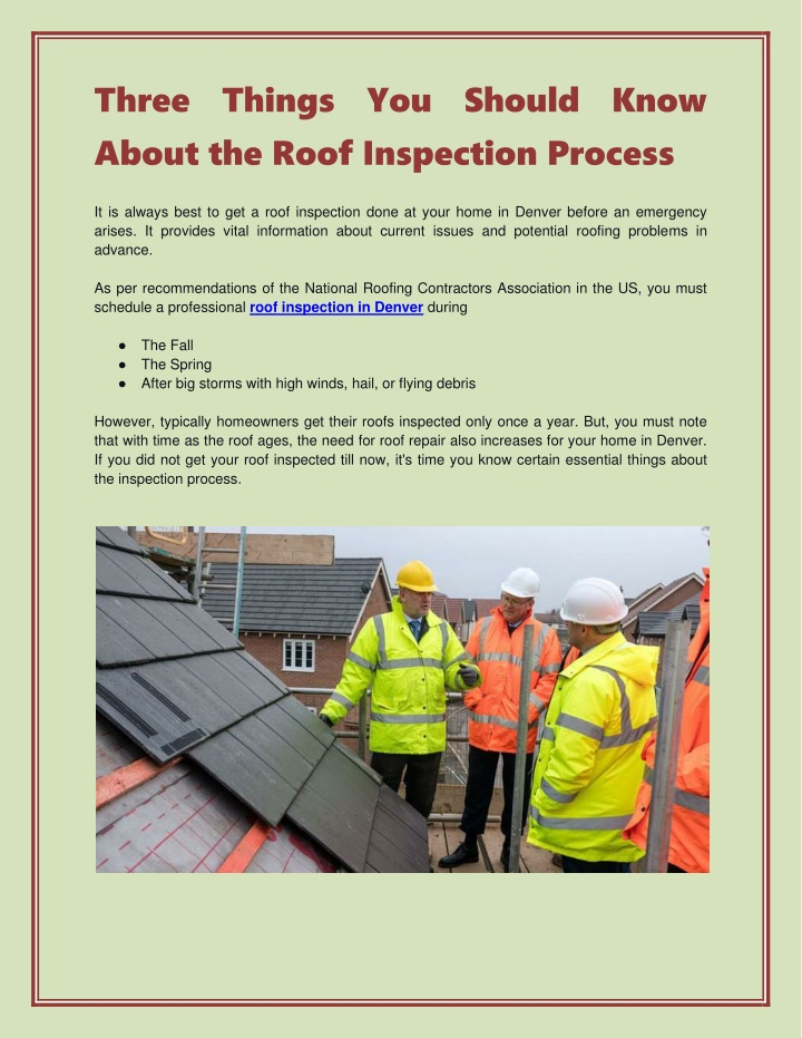 3 Things You Should Know About the Roof Inspection Process-converted