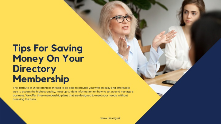 3 Tips For Saving Money On Your Directory Membership