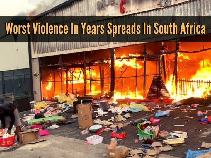 worst violence in years spreads in south africa n.