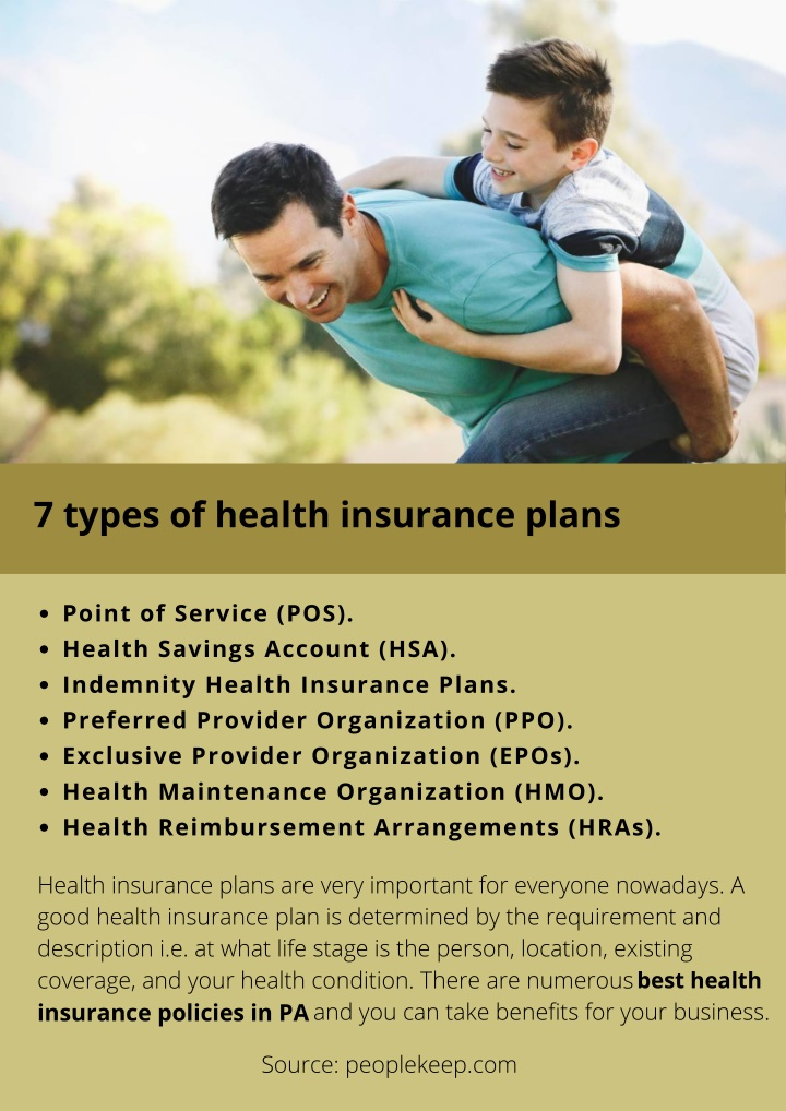 PPT - 7 types of health insurance plans PowerPoint ...