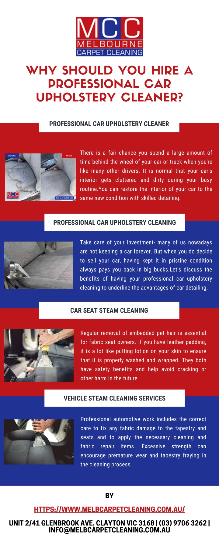 why should you hire a professional car upholstery n.