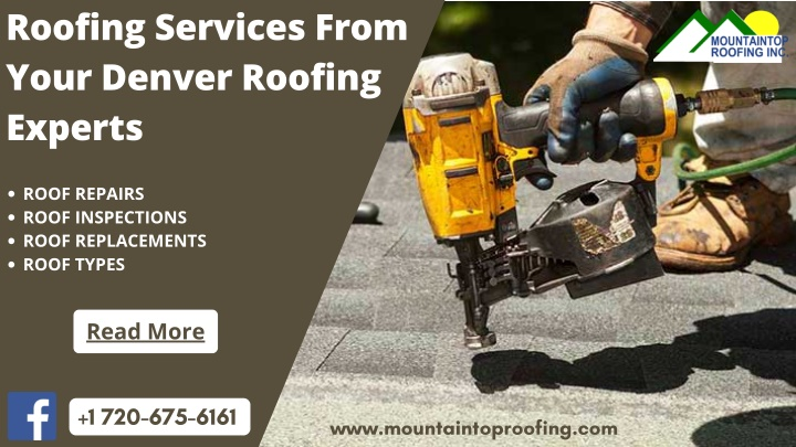 Roofing Services From Your Denver Roofing Experts