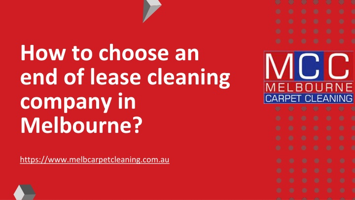how to choose an end of lease cleaning company n.