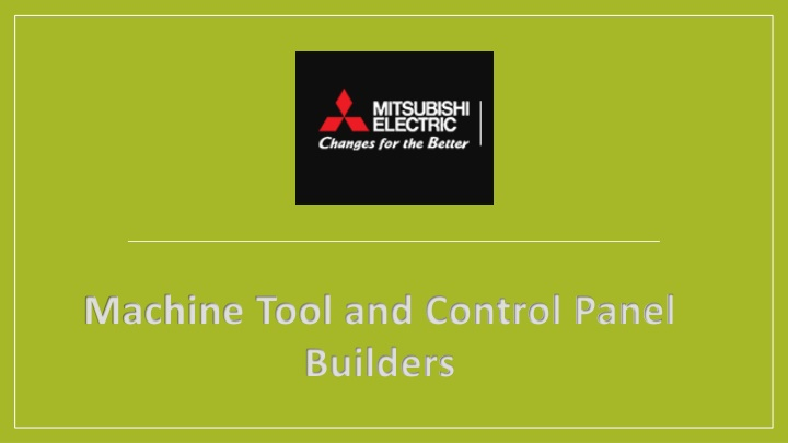 machine tool and control panel builders n.