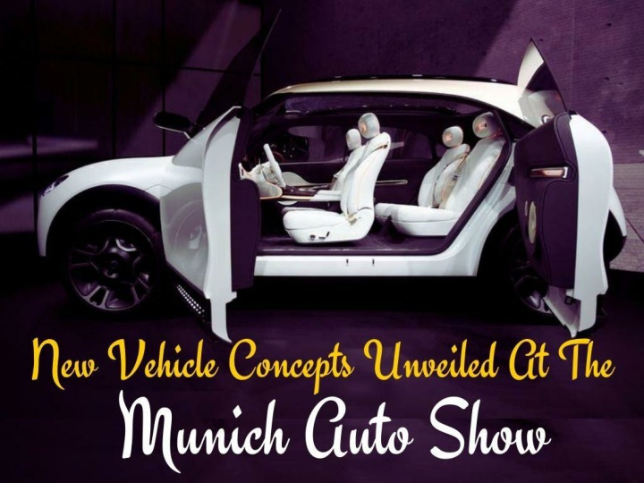 new vehicle concepts unveiled at the munich auto show n.