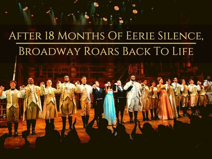 after 18 months of eerie silence broadway roars back to life n.