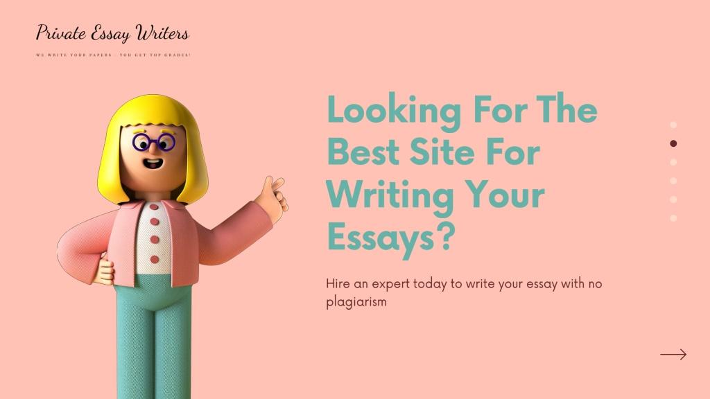 Example definition essay