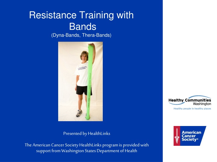 resistance training with bands dyna bands thera bands n.