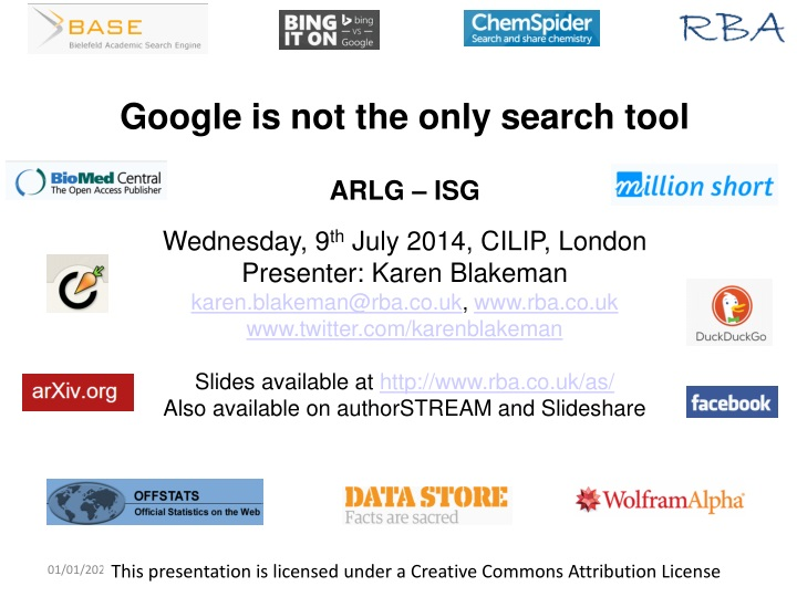 google is not the only search tool arlg n.