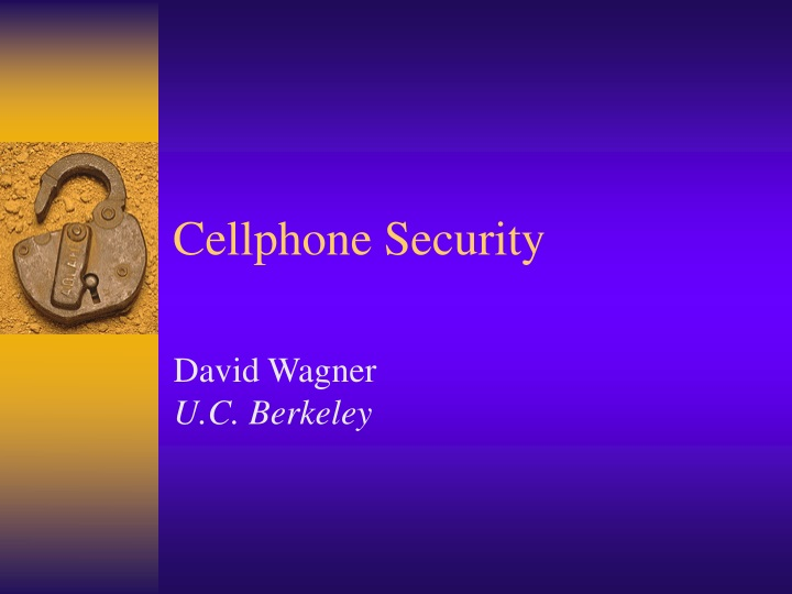 cellphone security n.