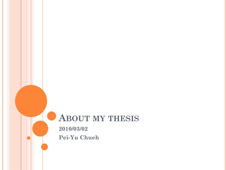 about my thesis n.