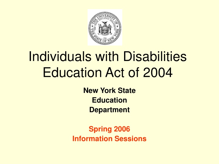 individuals with disabilities education act of 2004 n.