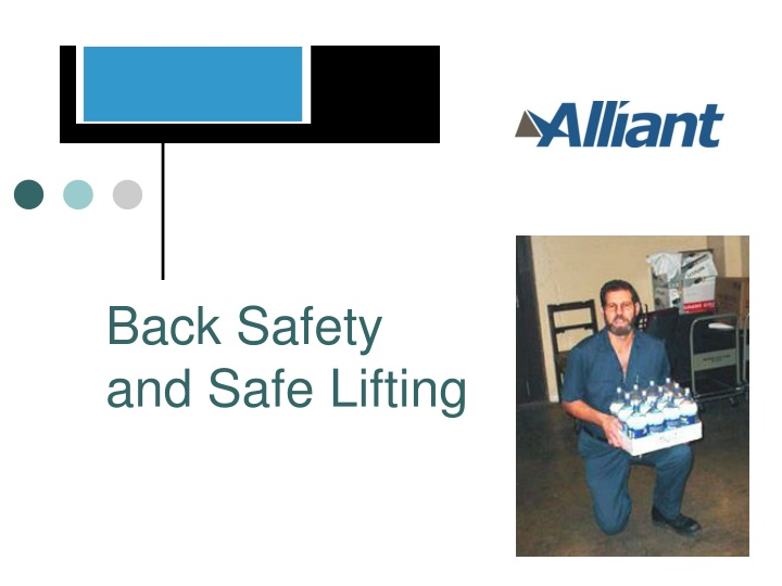 back safety and safe lifting n.