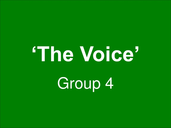 the voice n.