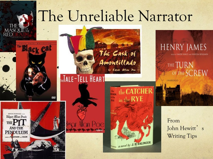the unreliable narrator n.