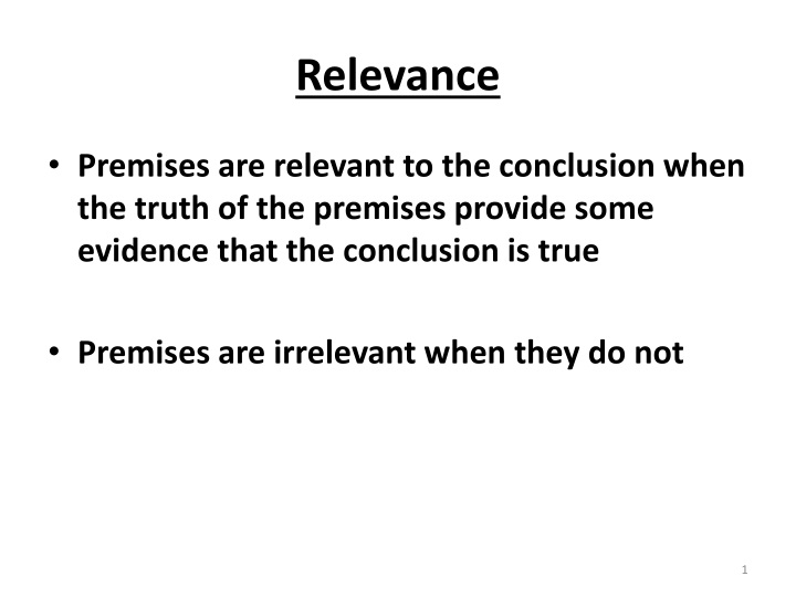 relevance n.