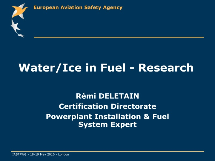 water ice in fuel research n.
