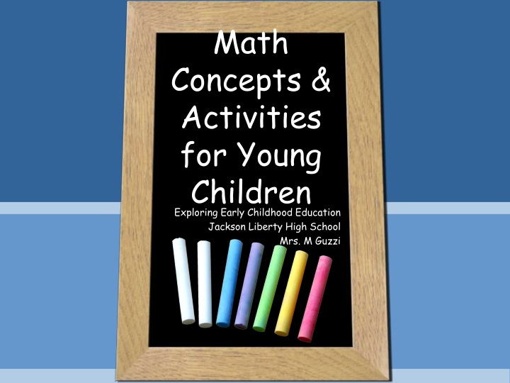 math concepts activities for young children n.