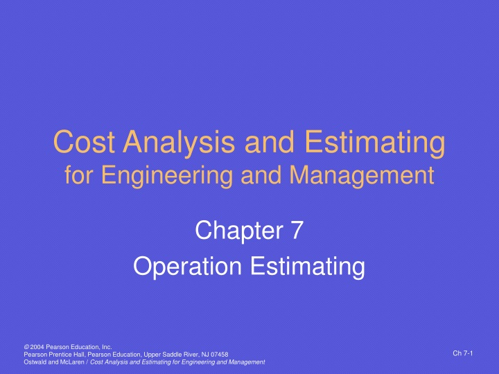 cost analysis and estimating for engineering and management n.
