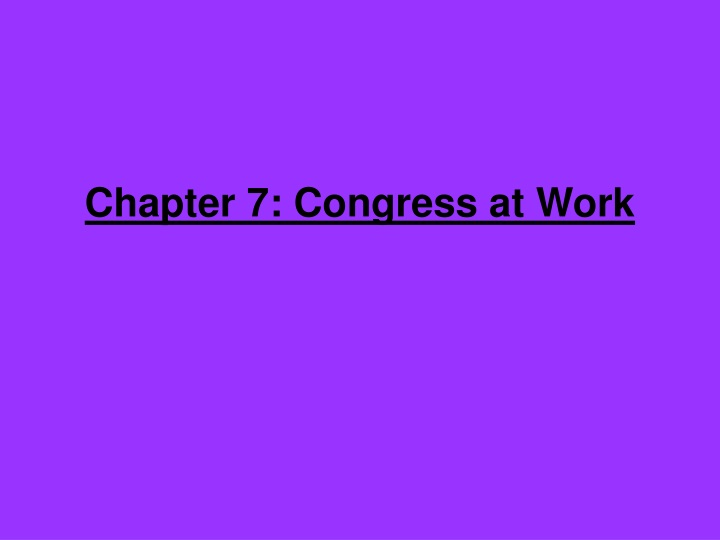 chapter 7 congress at work n.