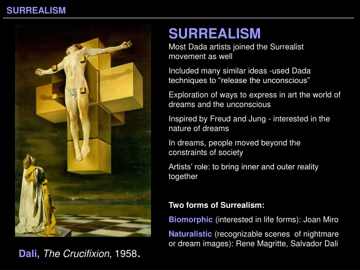 surrealism most dada artists joined n.