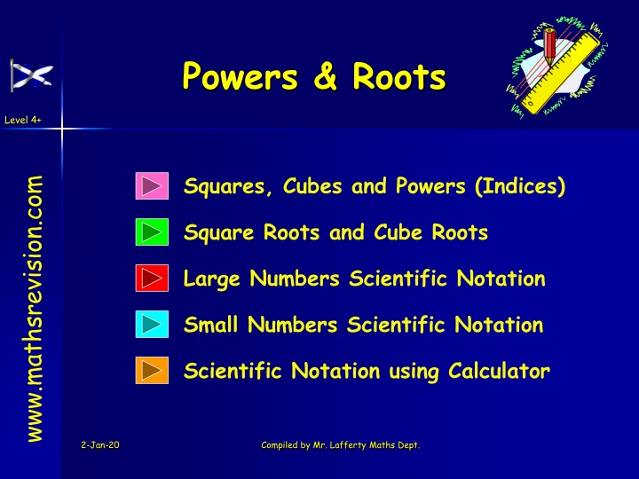 powers roots n.