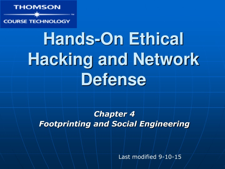 hands on ethical hacking and network defense n.