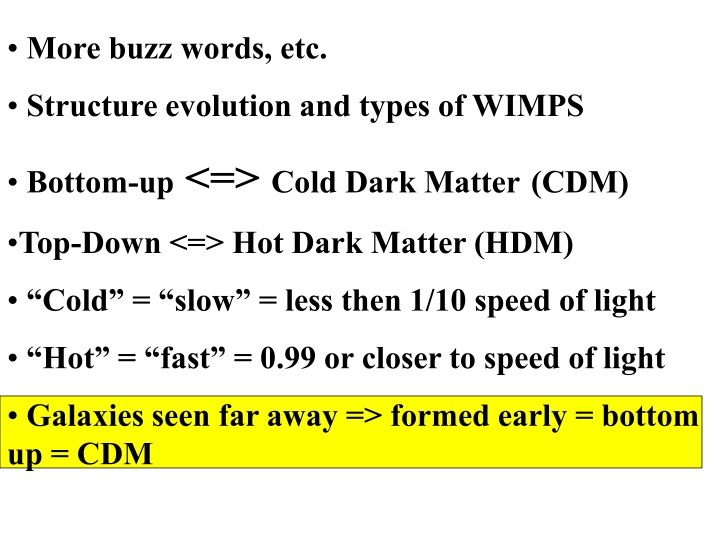 more buzz words etc structure evolution and types n.