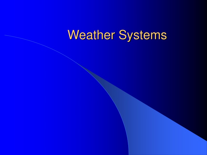 weather systems n.