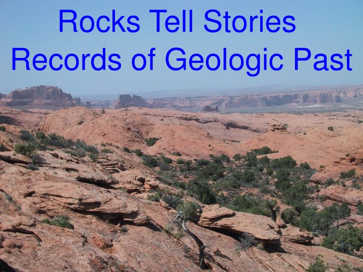 rocks tell stories records of geologic past n.