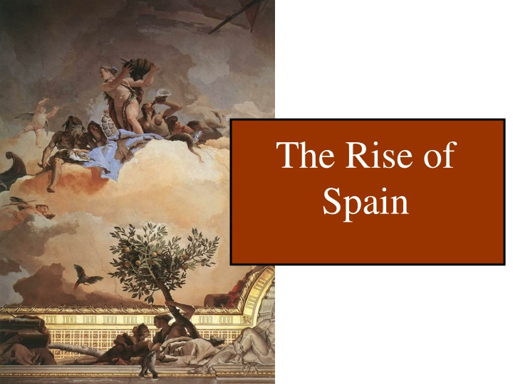 the rise of spain n.