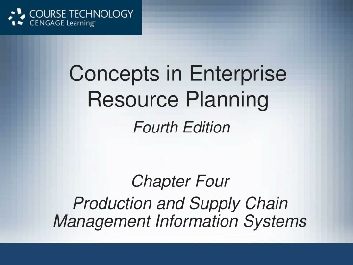 concepts in enterprise resource planning fourth edition n.