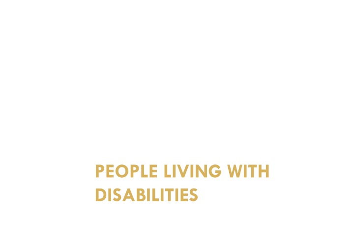 people living with disabilities n.