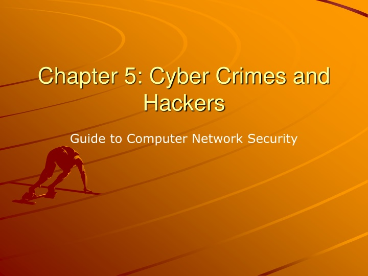 chapter 5 cyber crimes and hackers n.