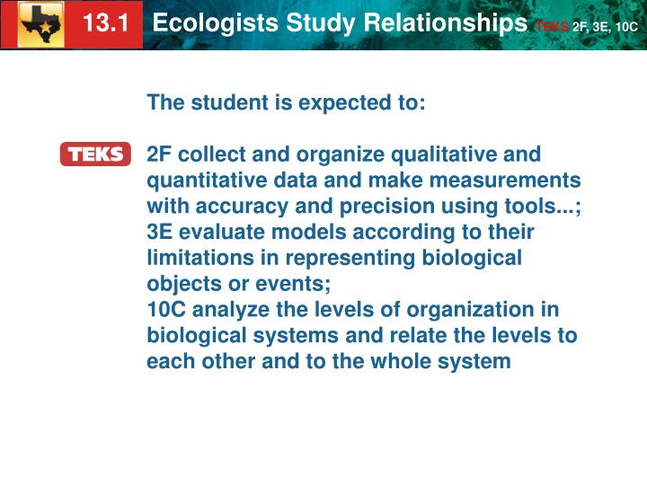 the student is expected to 2f collect n.