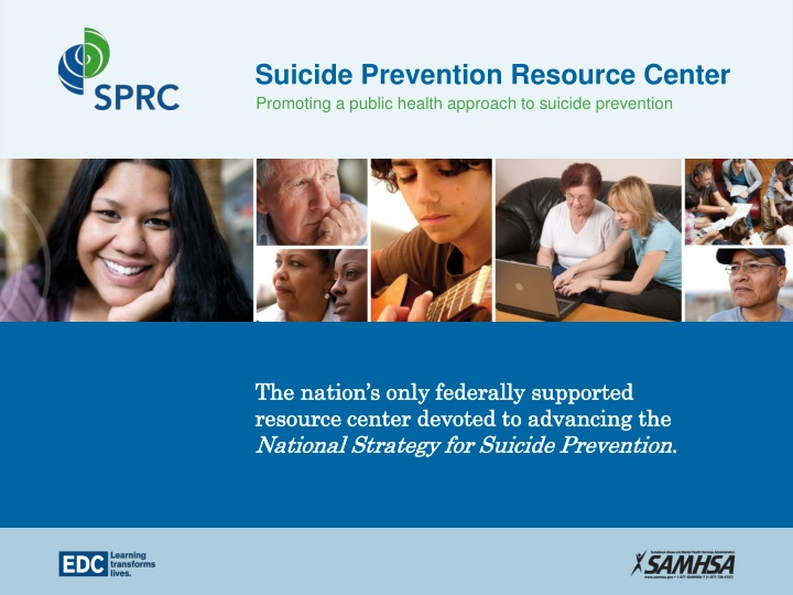 suicide prevention resource center n.