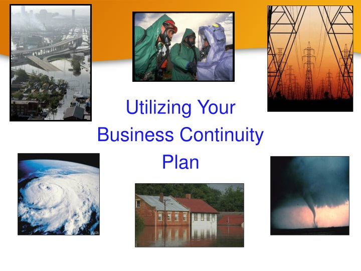 utilizing your business continuity plan n.