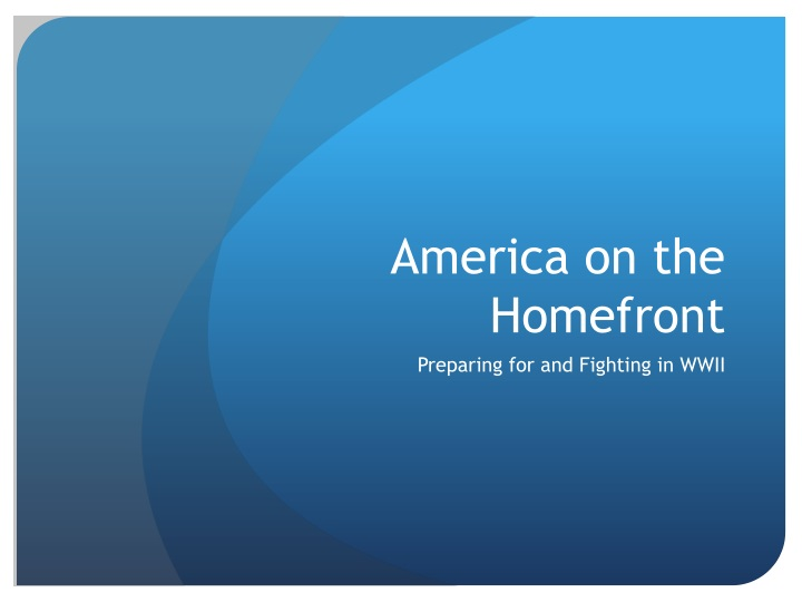 america on the homefront n.