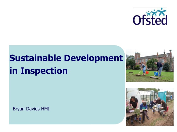 sustainable development in inspection n.