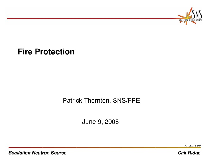 fire protection n.