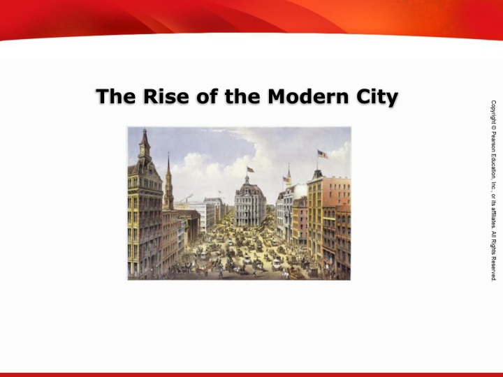 the rise of the modern city n.