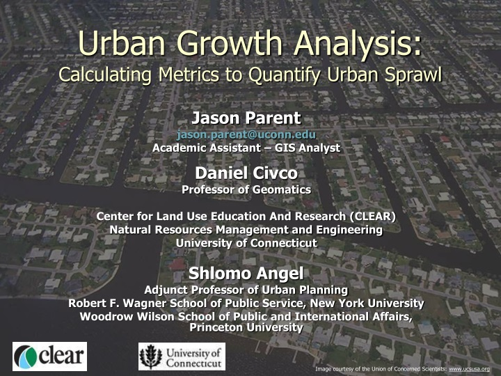 urban growth analysis calculating metrics to quantify urban sprawl n.
