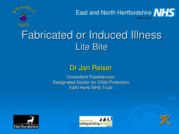 fabricated or induced illness lite bite n.